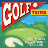 Golf Trivia Calendar