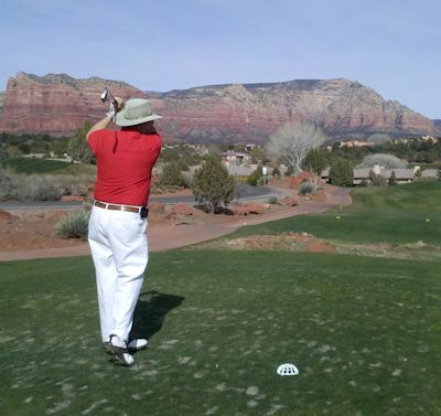 Milton Zepp Golfing